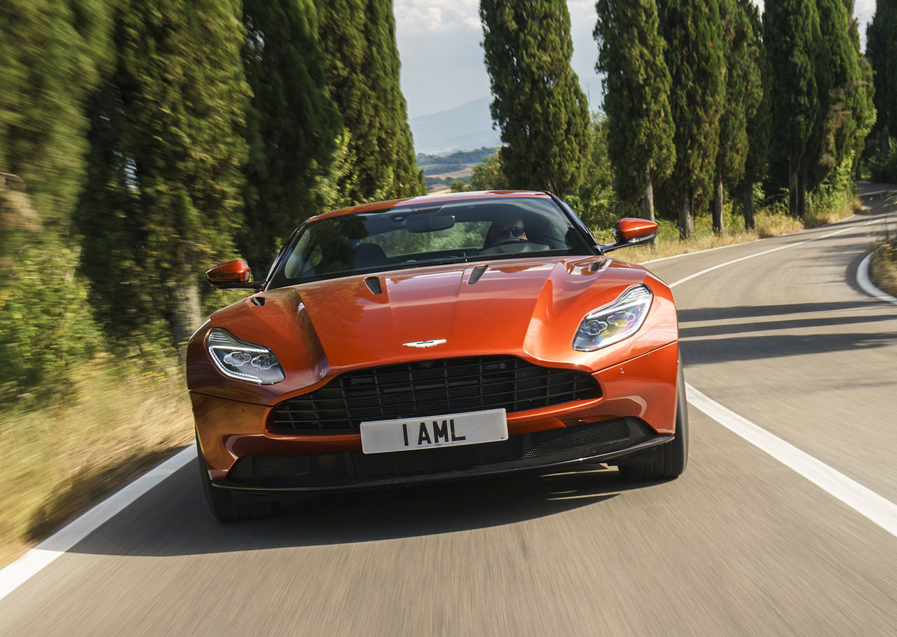 2017 Aston Martin Db11 Launch Edition Road Test Review The Car Magazine