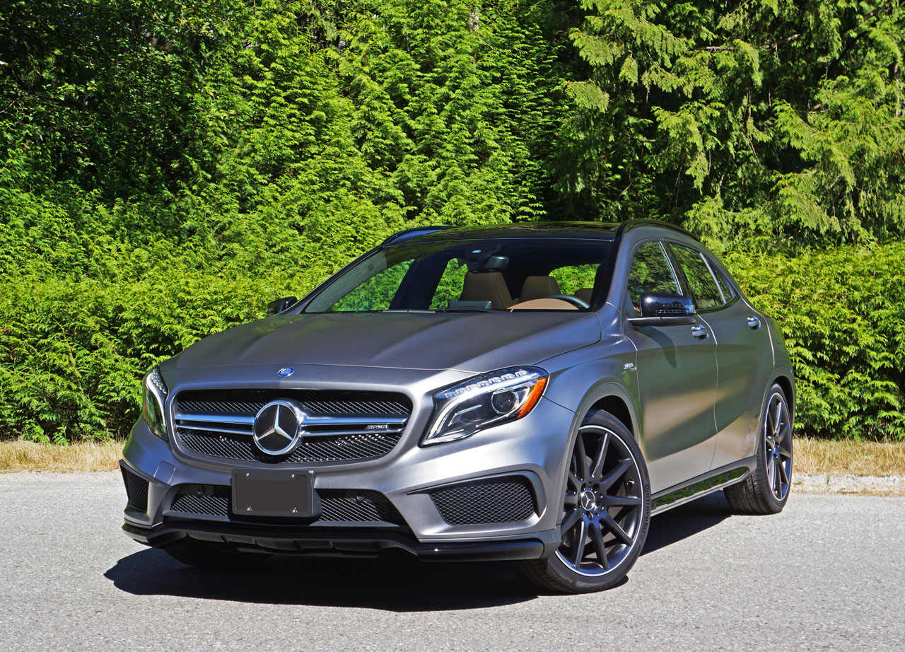 2016 Mercedes-Benz GLA 45 AMG 4Matic Road Test Review ...