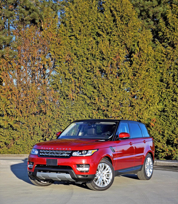 2017 Land Rover Range Rover Sport HSE Td6 Road Test