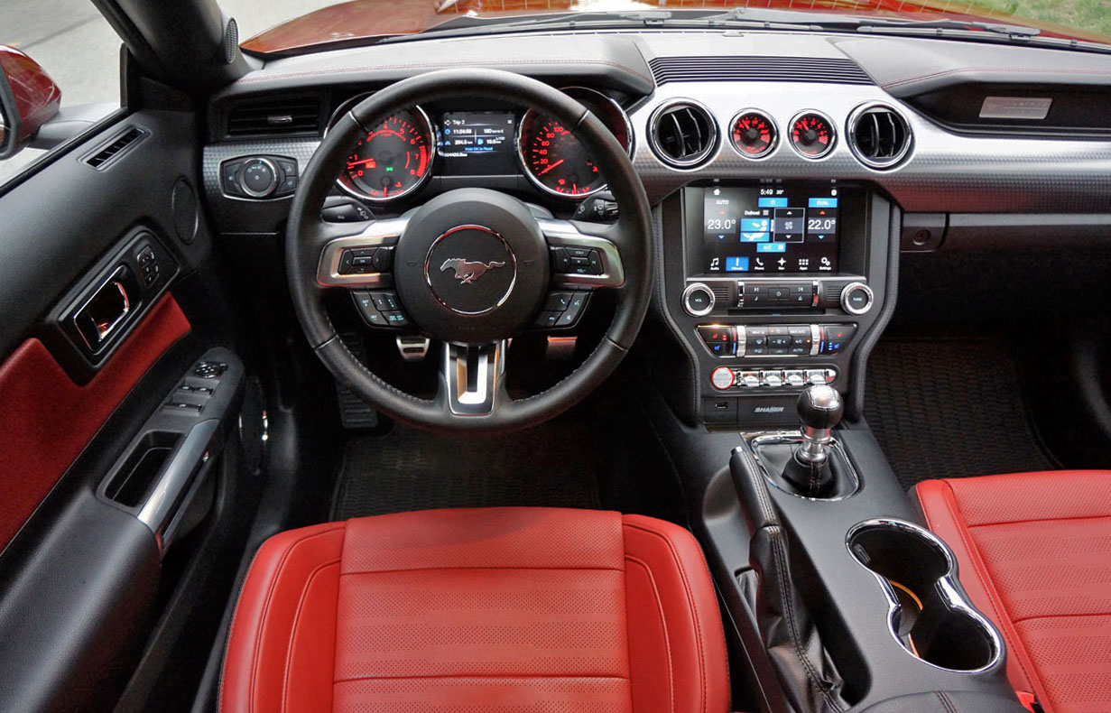2017 Ford Mustang Gt Premium >> 2017 Ford Mustang GT Convertible   The Car Magazine