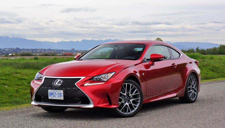 2017 Lexus Rc 300 Awd F Sport Review