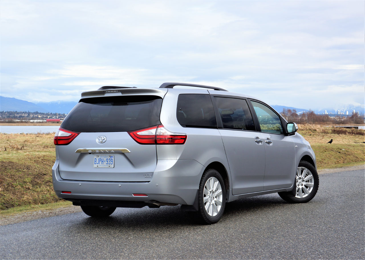 2017 Toyota Sienna Limited Awd The Car Magazine