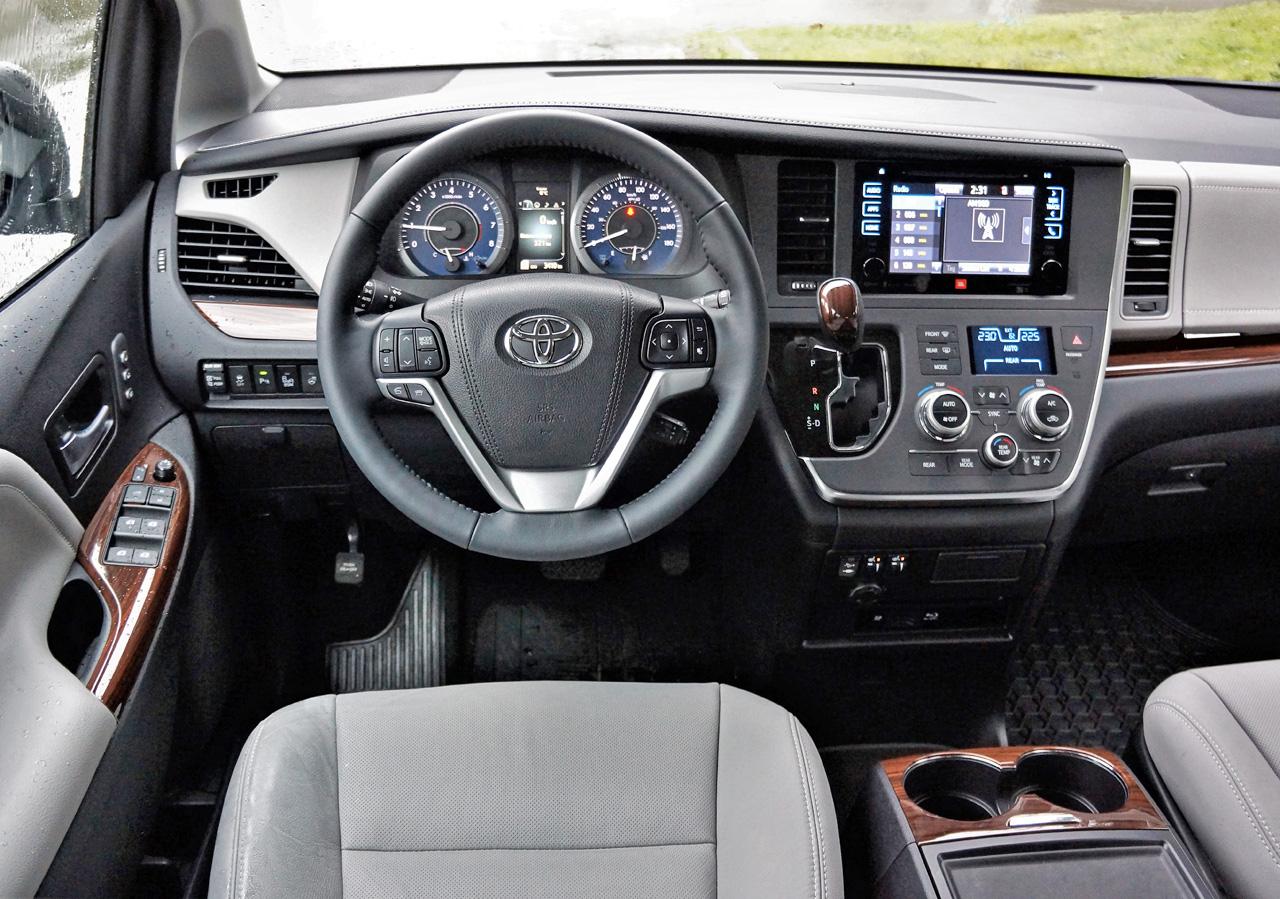 2017 Toyota Sienna Limited Awd 4