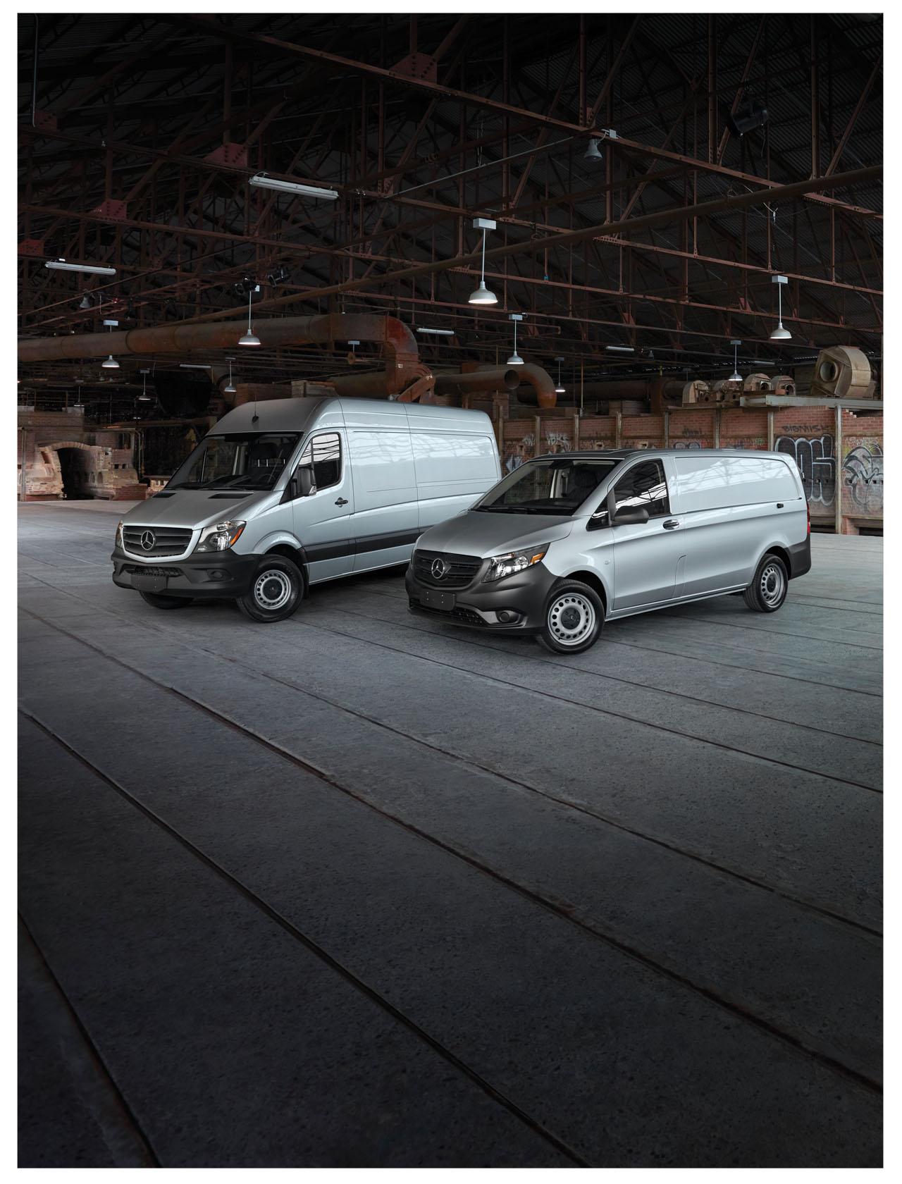 fcd642f726 Four Mercedes-Benz Vans earn Vincentric Best Fleet Value in Canada awards