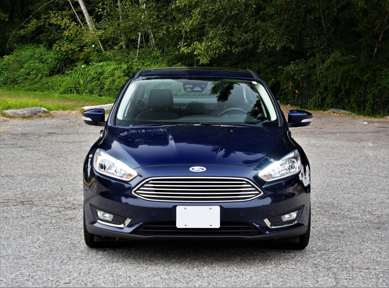 2017 Ford Focus Sedan Titanium Road Test