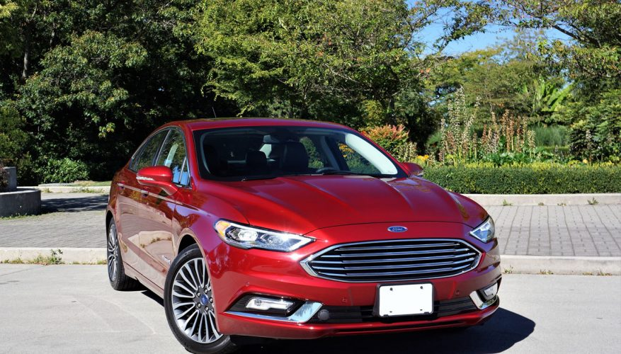 2018 Ford Fusion Hybrid Anium Road Test