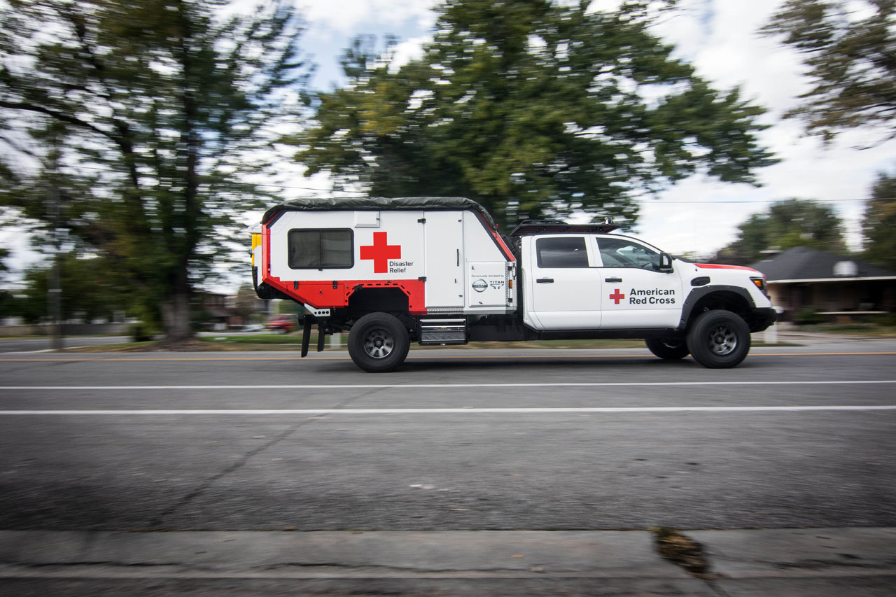 Nissan 5.0 Cummins >> Ultimate Service Titan given to Red Cross | The Car Magazine