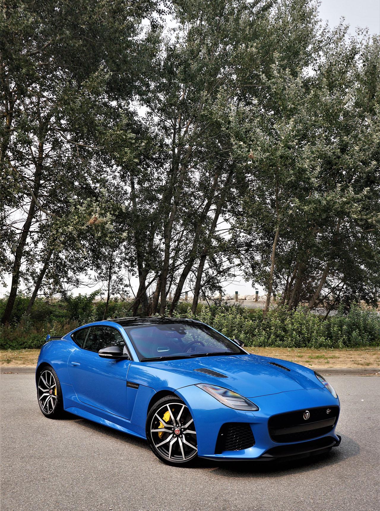 2018 Jaguar F-Type SVR Coupe Road Test | The Car Magazine