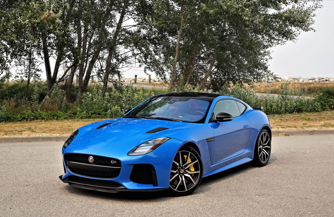2018 Jaguar F Type Svr Coupe Road Test The Car Magazine