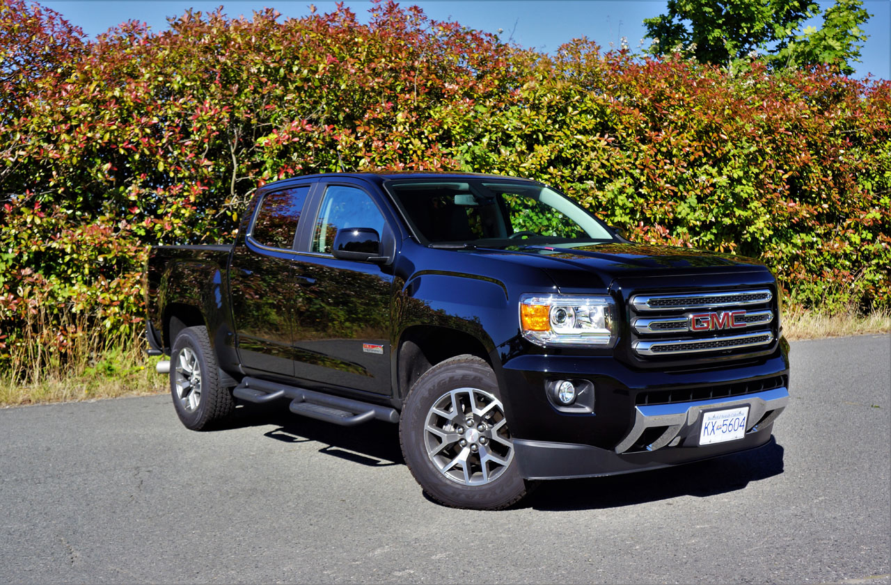2018 GMC Canyon 4WD Crew Cab SLE Review | The Car Magazine