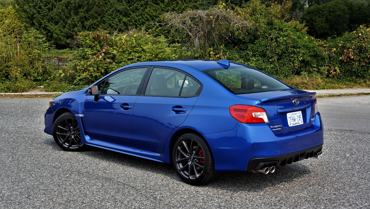 2019 Subaru WRX Sport-tech RS Road Test | The Car Magazine