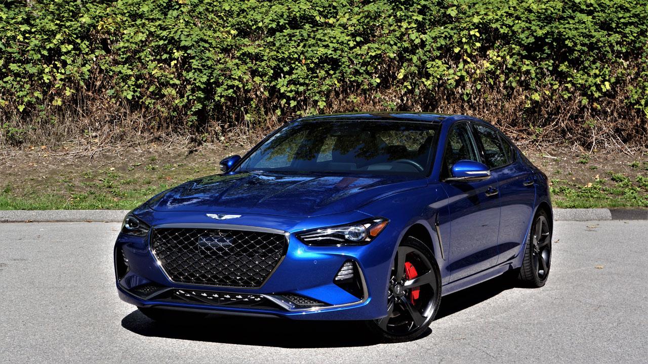 2019 Genesis G70 3.3T Sport AWD Road Test | The Car Magazine
