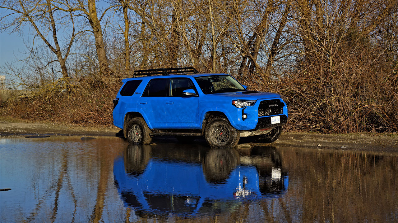 2019 Toyota 4runner Trd Pro Road Test The Car Magazine