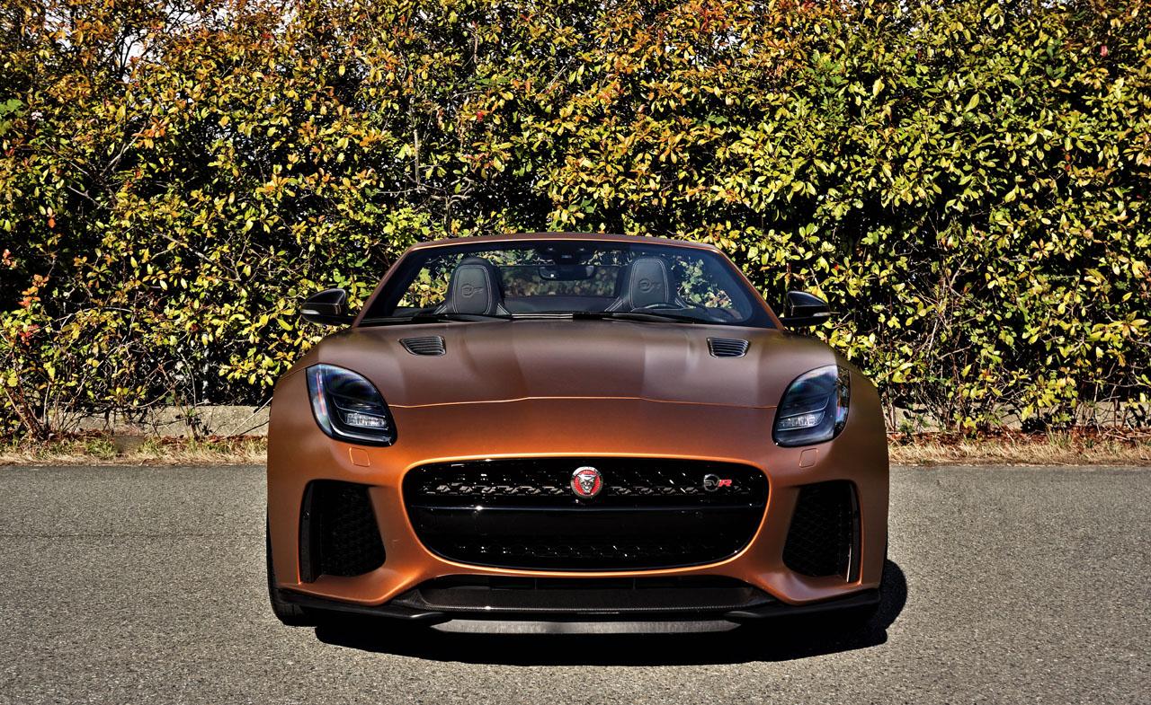 2020 Jaguar F-Type SVR Convertible   The Car Magazine