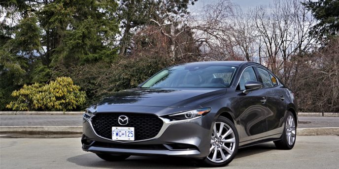 Not for Hatchback Powerty Trunk Mat All Weather TPO Rear Cargo Liner for Mazda 3 Sedan//Mazda Axela 2019 2020